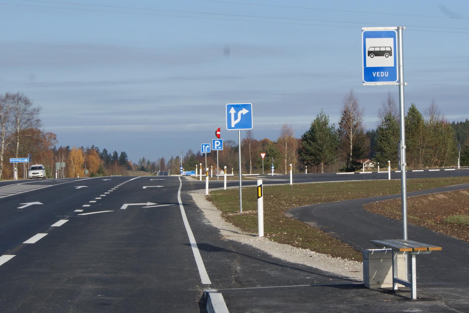 Põhimaantee nr 3 Jõhvi-Tartu-Valga km 109,6-118,9 rekonstrueerimine