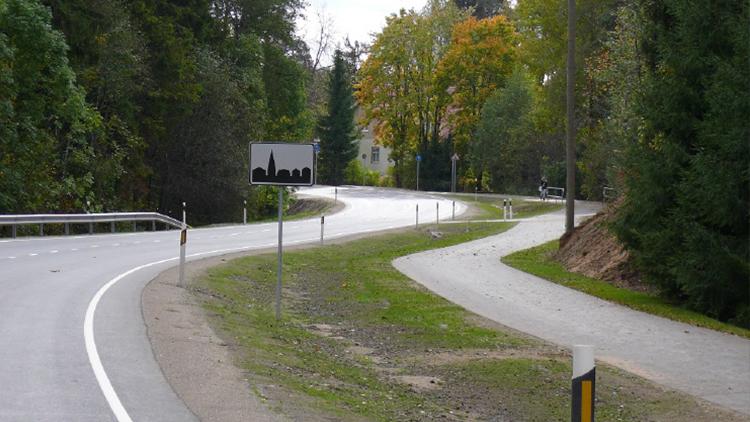 Sõidutee katte remont ja kergliiklustee ehitus. Maantee nr 13 Jägala – Käravete Aegviidu vaheline lõik km 34,8 – 40,7